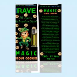 Magic Girl Scout Cookies Strain CBD Vape Cartridge