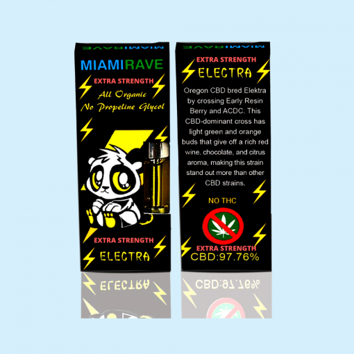 Elektra Strain CBD Vape Cartridge (Extra Strength)