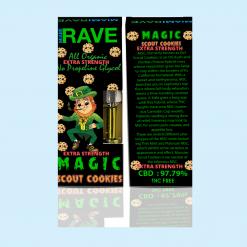 Magic Girl Scout Cookies Strain CBD Vape Cartridge *Extra Strength*
