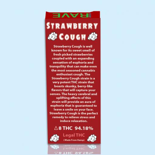 Strawberry Cough Strain THC Oil Vape Cartridge
