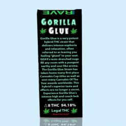 Gorilla Glue Strain THC Vape Oil Cartridge