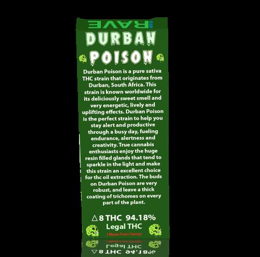 Durban Poison THC Vape Oil