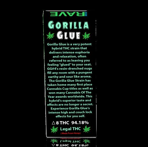 Gorilla GLue THC Vape Oil Cartridge