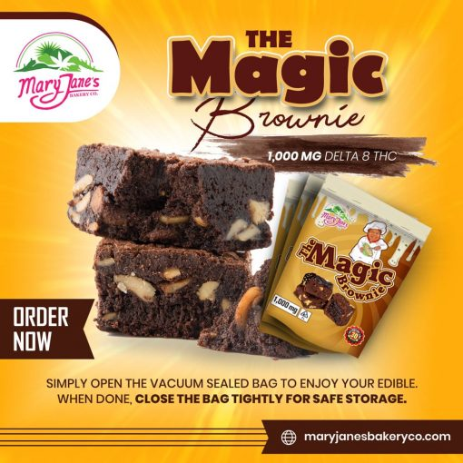 The Magic Brownie 1,000 MG Delta 8 THC