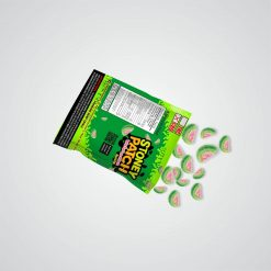 Stoney Patch Sour Watermelon Slices : 1,000 MG Delta 8 THC
