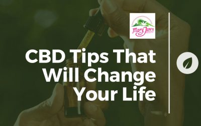CBD Tips that Will Change Your Life